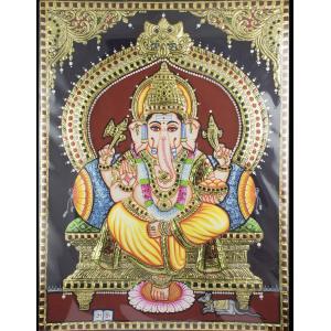 Yellow Dhothi Ganesha