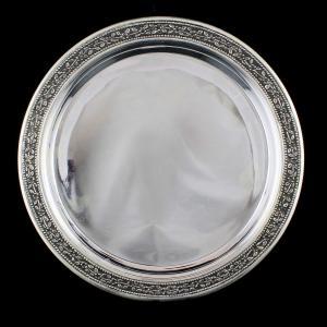 Silver Marwadi Plate