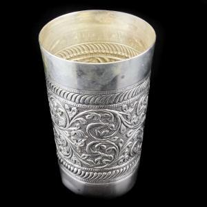 Silver Antique Lamp