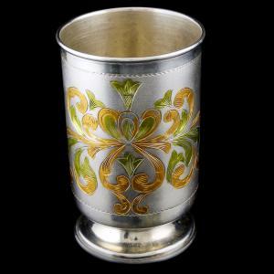 SIlver Fancy Design Nagas Casting Lamp