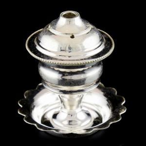 92.5 Sterling Silver Lakshmi Lamp