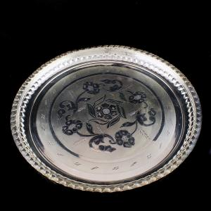 92.5 Sterling Silver Fancy Kumkum Box