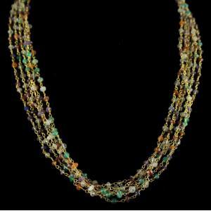 Fancy Beads Bunch Chain