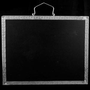 Silver Fancy Design Slate