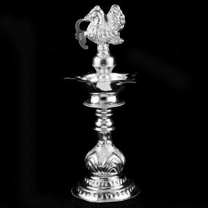 Silver Traditional Lamp
