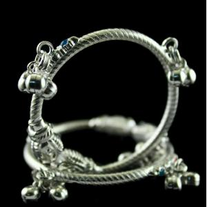 Silver Baby Anklets