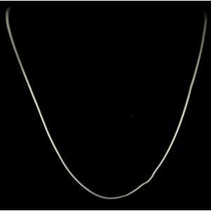 Silver Plain Design Chain