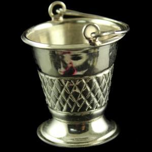 Silver Fancy Design Bucket