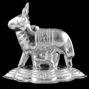 Silver komadha With Calf Idols