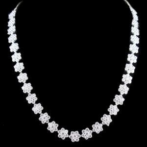 Zircon Stone Party Wear Necklace
