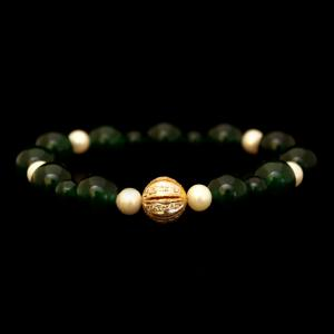 PEARL BEADS AND CZ BRACELETS