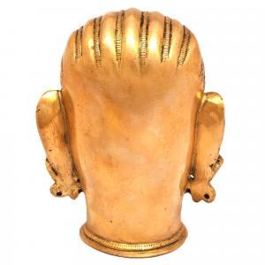BRASS SHIVA HEAD