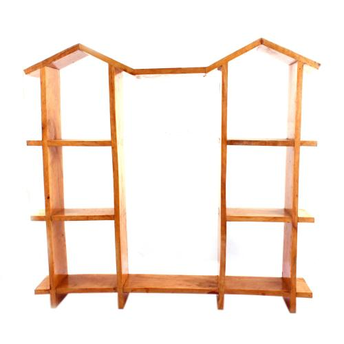 WOODEN WALL DECORE 7 STEP