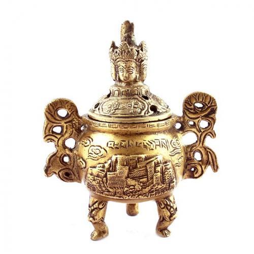 DHOOP BURNER WITH BUDDHA HEAD