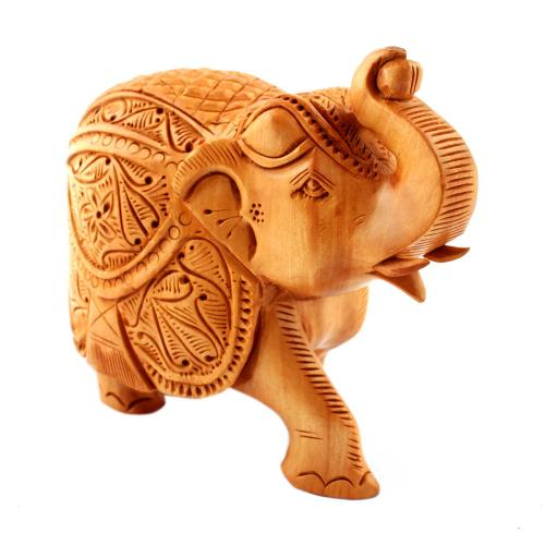 WDN CARVED ELEPHANT