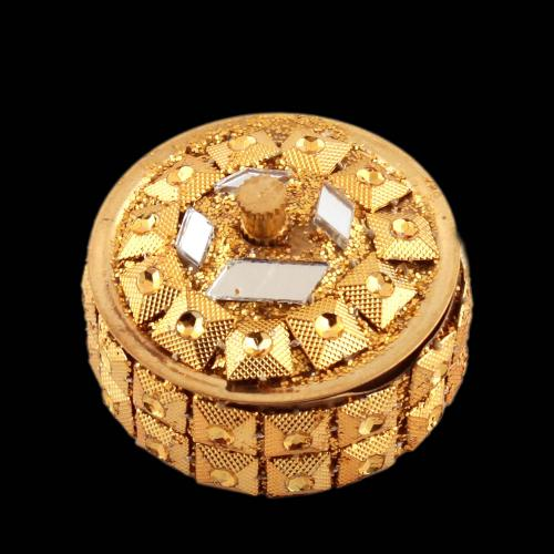 KUMKUM BOX GOLD