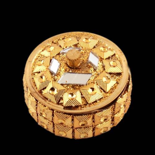 KUMKUM BOX GOLD