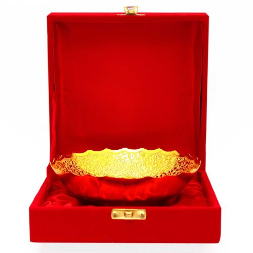 BOWL GOLD PLATED