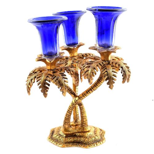 CANDLE STAND WITH TREE