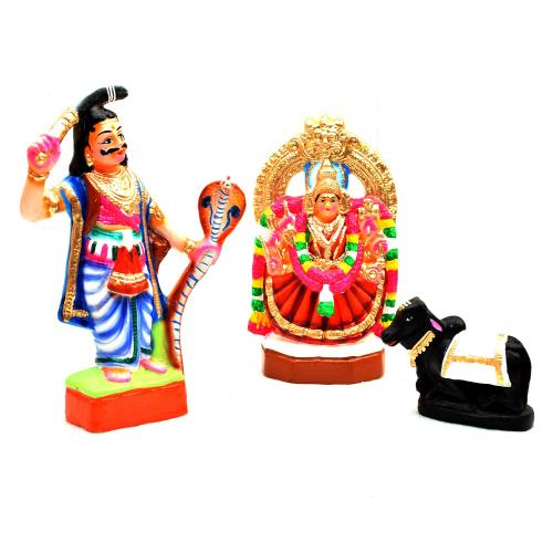 SAMUNDESSHWARI SET OF 3 PCS