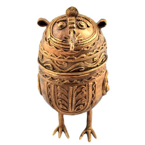 DHOKRA OWL BIG WITH BOX