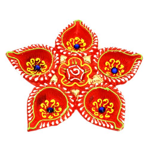 Diya Plate (Set of five)