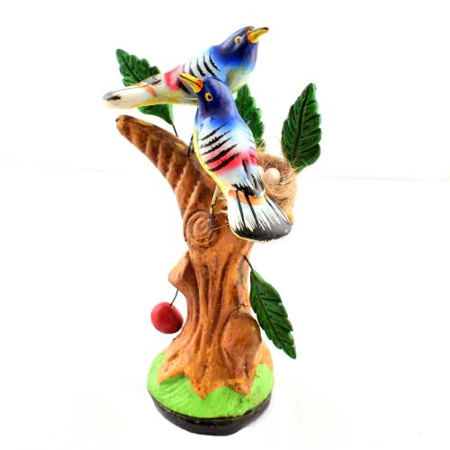 GOLU DOLL 2 BIRDS ON TREE