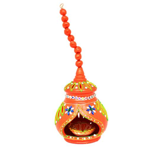 CUTTING HANGING RED DIYA