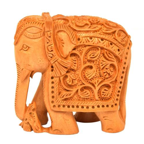 SANDAL WOOD ELEPHANT DT STANDING