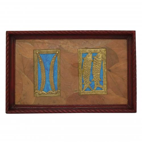 WOODEN WALL ART WALL HANGING WITH FRAME