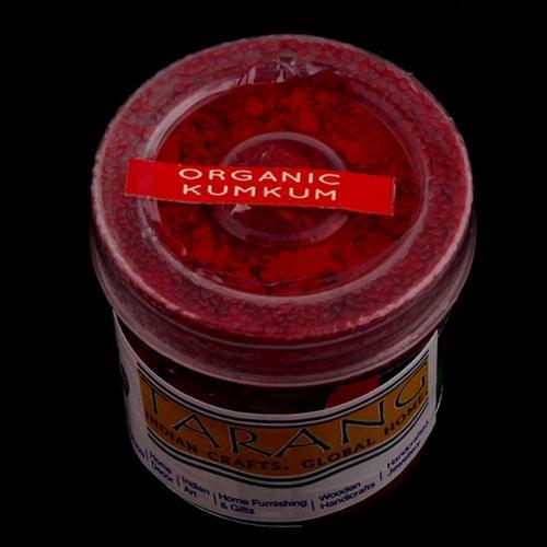 ORGANIC KUM KUM BOX-RED