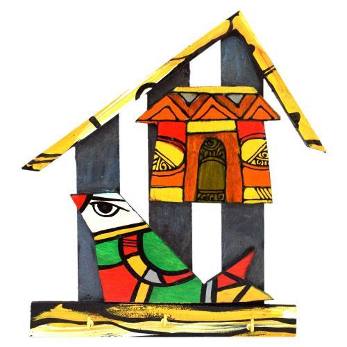 hut shape key holder