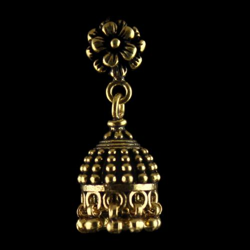 Antique Design Gold Plated Jhumka
