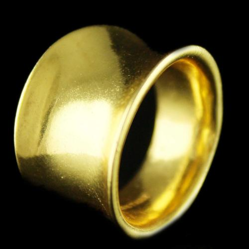 Silver Gold Plated Plain Fancy Finger Rings