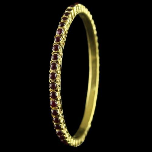 Silver Fancy Design Bangles Studded Zircon Stones