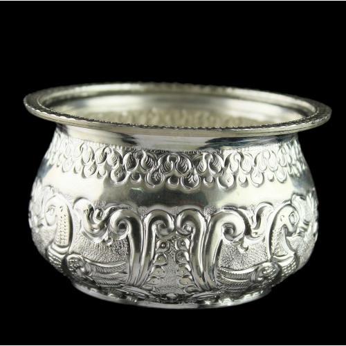 Silver Nagas Bowl