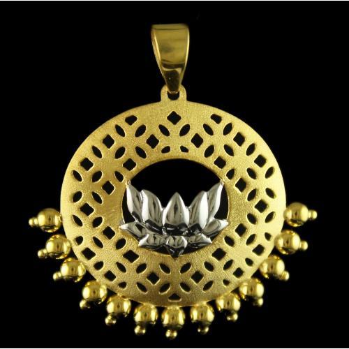 18 Ct Gold Fancy Design PENDANT