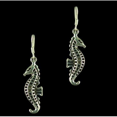 Silver Oxidized Fancy Design Earrings