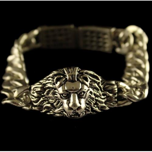 Silver Oxidized Fancy Design Bracelet