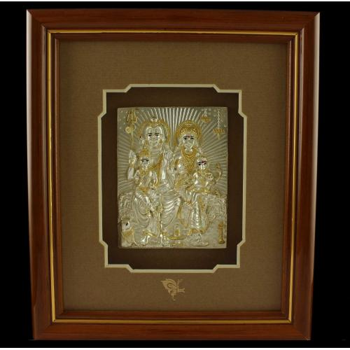 Lord shivaparivar Photo Frame