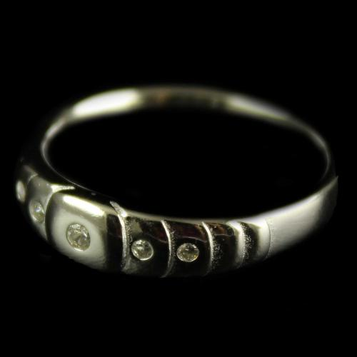 Silver Plated Fancy Design Ring