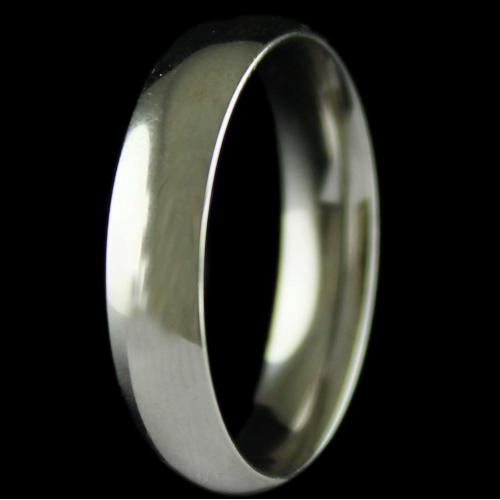 Silver  Band Design  Ring
