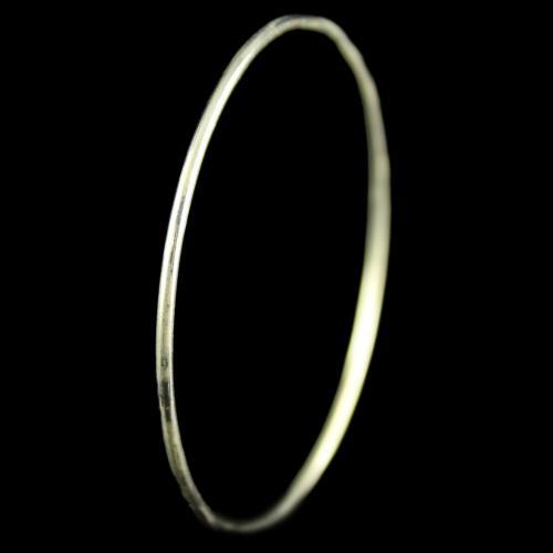 Silver Oxidized Bangle And Bracelets