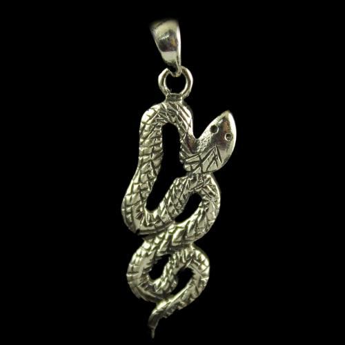 Silver Snake Pendants