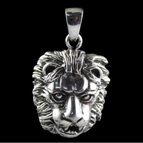 Silver Oxidized Antique Design Pendats
