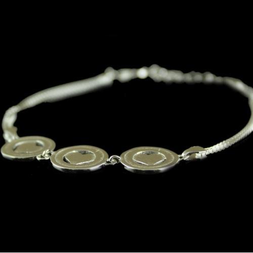 SIlver Fancy Design Bracelets