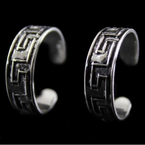 Silver  Band Design  ToeRing
