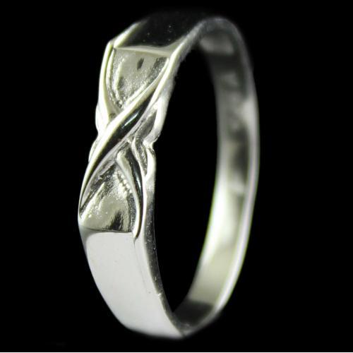 Silver Fancy Design Casual Rings