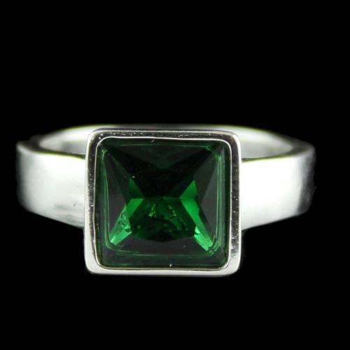 Silver Fancy Design Mens Ring
