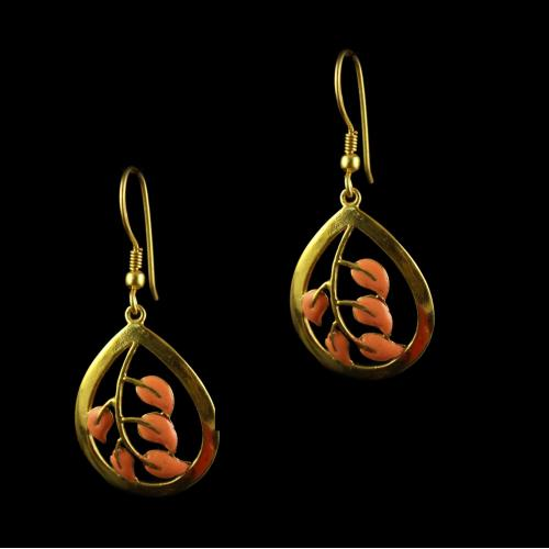 Rose Gold Hanging Earring